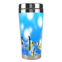 Pisces Underwater World Fairy Tale Stainless Steel Travel Tumblers