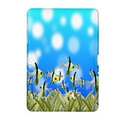 Pisces Underwater World Fairy Tale Samsung Galaxy Tab 2 (10.1 ) P5100 Hardshell Case