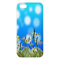 Pisces Underwater World Fairy Tale iPhone 5S/ SE Premium Hardshell Case