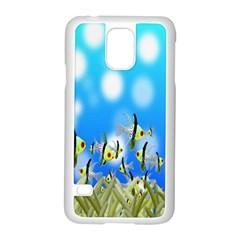 Pisces Underwater World Fairy Tale Samsung Galaxy S5 Case (white)