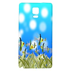 Pisces Underwater World Fairy Tale Galaxy Note 4 Back Case