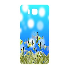 Pisces Underwater World Fairy Tale Samsung Galaxy Alpha Hardshell Back Case