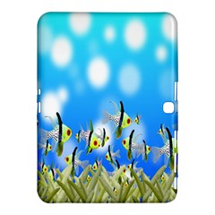 Pisces Underwater World Fairy Tale Samsung Galaxy Tab 4 (10.1 ) Hardshell Case