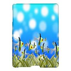 Pisces Underwater World Fairy Tale Samsung Galaxy Tab S (10.5 ) Hardshell Case