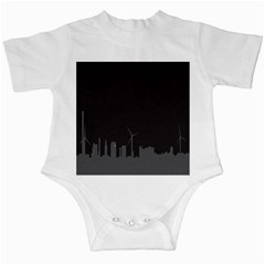 Windmild City Building Grey Infant Creepers