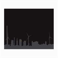 Windmild City Building Grey Small Glasses Cloth (2-Side)