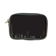 Windmild City Building Grey Coin Purse