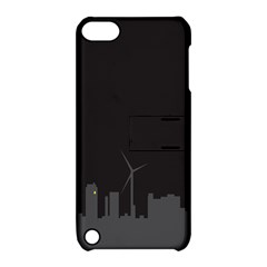 Windmild City Building Grey Apple iPod Touch 5 Hardshell Case with Stand