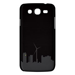 Windmild City Building Grey Samsung Galaxy Mega 5.8 I9152 Hardshell Case