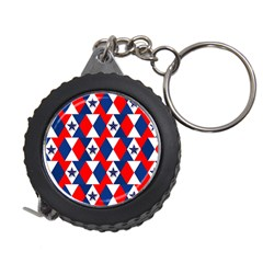 Patriotic Red White Blue 3d Stars Measuring Tapes