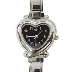 Windmild City Building Grey Heart Italian Charm Watch