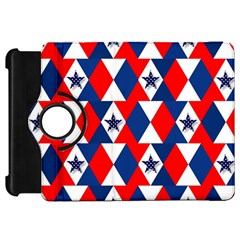 Patriotic Red White Blue 3d Stars Kindle Fire HD 7