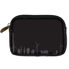 Windmild City Building Grey Digital Camera Cases