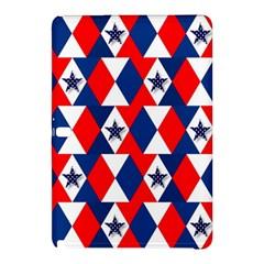 Patriotic Red White Blue 3d Stars Samsung Galaxy Tab Pro 12.2 Hardshell Case