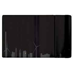 Windmild City Building Grey Apple iPad 3/4 Flip Case