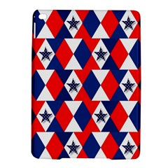 Patriotic Red White Blue 3d Stars iPad Air 2 Hardshell Cases