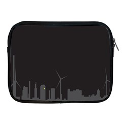 Windmild City Building Grey Apple iPad 2/3/4 Zipper Cases