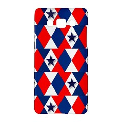 Patriotic Red White Blue 3d Stars Samsung Galaxy A5 Hardshell Case