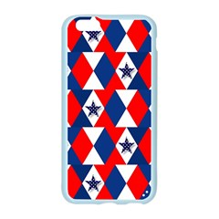 Patriotic Red White Blue 3d Stars Apple Seamless iPhone 6/6S Case (Color)