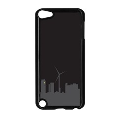 Windmild City Building Grey Apple iPod Touch 5 Case (Black)