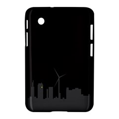 Windmild City Building Grey Samsung Galaxy Tab 2 (7 ) P3100 Hardshell Case