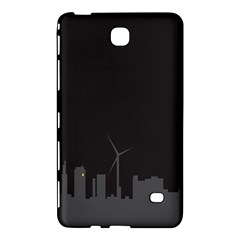 Windmild City Building Grey Samsung Galaxy Tab 4 (7 ) Hardshell Case