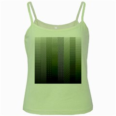 Semi Authentic Screen Tone Gradient Pack Green Spaghetti Tank