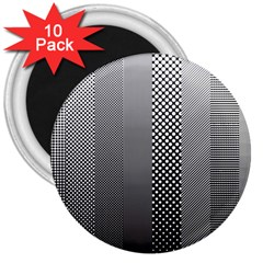 Semi Authentic Screen Tone Gradient Pack 3  Magnets (10 pack)