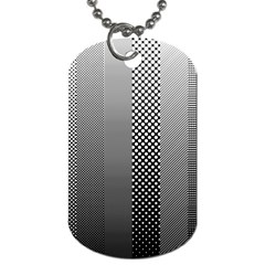 Semi Authentic Screen Tone Gradient Pack Dog Tag (Two Sides)
