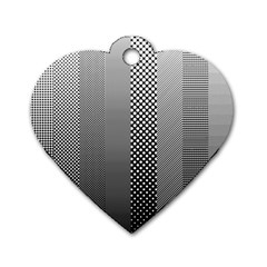 Semi Authentic Screen Tone Gradient Pack Dog Tag Heart (Two Sides)