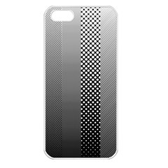 Semi Authentic Screen Tone Gradient Pack Apple iPhone 5 Seamless Case (White)