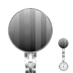 Semi Authentic Screen Tone Gradient Pack Stainless Steel Nurses Watch