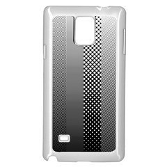 Semi Authentic Screen Tone Gradient Pack Samsung Galaxy Note 4 Case (White)