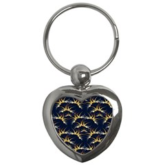 Pearly Pattern Key Chains (Heart)