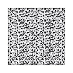 Skulls Face Mask Bone Cloud Rain Acrylic Tangram Puzzle (6  x 6 )
