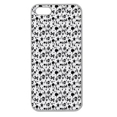 Skulls Face Mask Bone Cloud Rain Apple Seamless iPhone 5 Case (Clear)