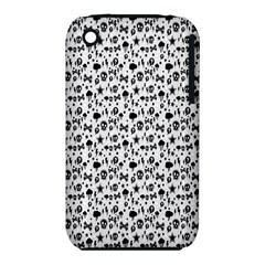 Skulls Face Mask Bone Cloud Rain iPhone 3S/3GS