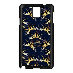 Pearly Pattern Samsung Galaxy Note 3 N9005 Case (Black)