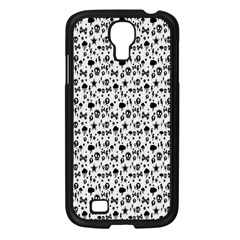 Skulls Face Mask Bone Cloud Rain Samsung Galaxy S4 I9500/ I9505 Case (Black)