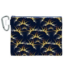 Pearly Pattern Canvas Cosmetic Bag (XL)