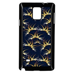 Pearly Pattern Samsung Galaxy Note 4 Case (Black)