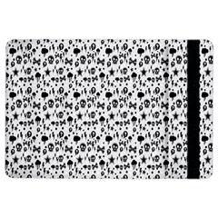 Skulls Face Mask Bone Cloud Rain iPad Air 2 Flip