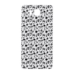 Skulls Face Mask Bone Cloud Rain Samsung Galaxy Alpha Hardshell Back Case