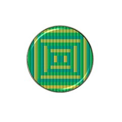 Pattern Grid Squares Texture Hat Clip Ball Marker