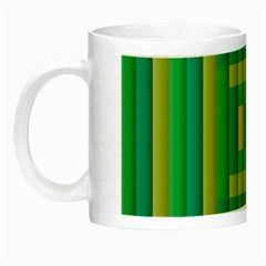 Pattern Grid Squares Texture Night Luminous Mugs