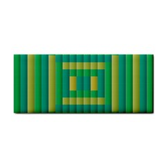 Pattern Grid Squares Texture Cosmetic Storage Cases
