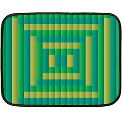Pattern Grid Squares Texture Fleece Blanket (Mini)