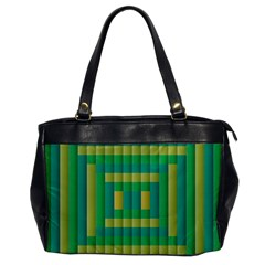 Pattern Grid Squares Texture Office Handbags