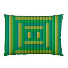 Pattern Grid Squares Texture Pillow Case (Two Sides)