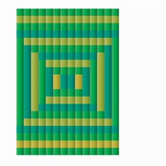 Pattern Grid Squares Texture Large Garden Flag (Two Sides)